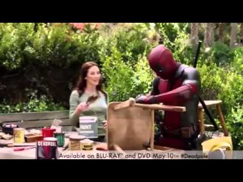 Deadpool 'Creating Colossus' Vfx Featurette [Blu-Ray/DVD 2016] Q Ray Commercial