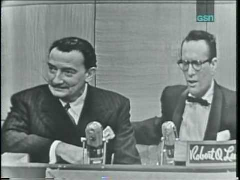 """Salvador Dali on """"The Name's the Same"""" (first appearance, January 19, 1954)"""