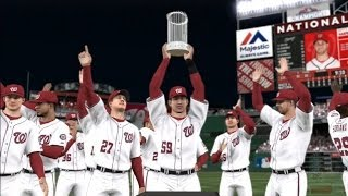 MLB 14: The Show - Washington Nationals World Series Celebration