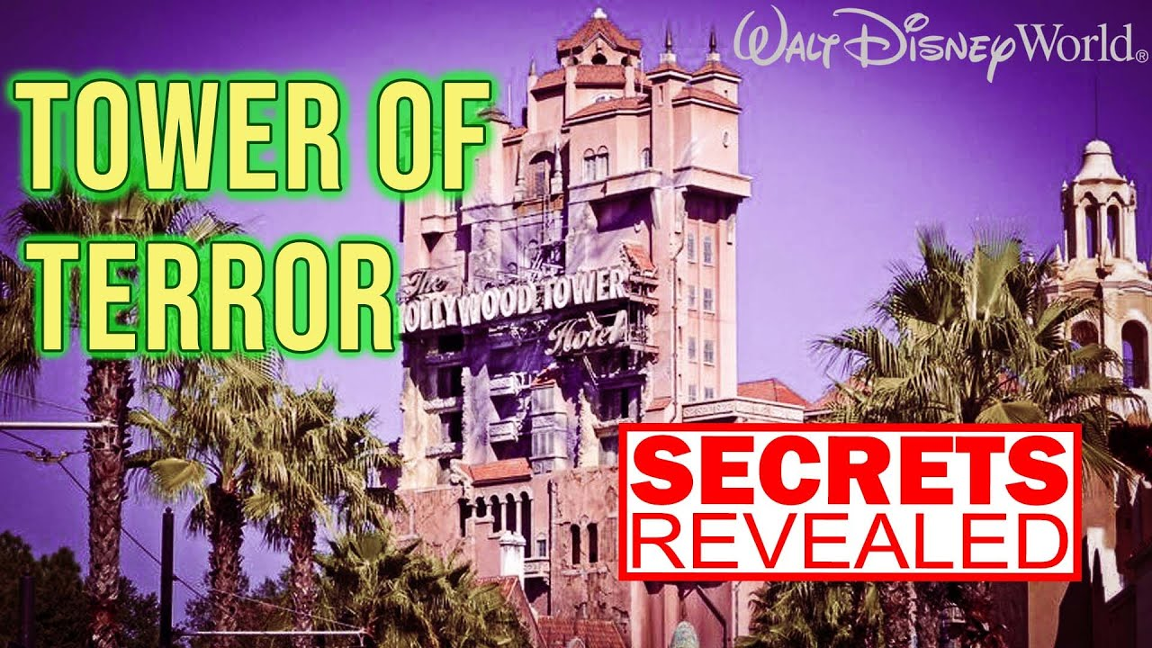 [SECRETS REVEALED] Tower Of Terror | How Did Mel Brooks Movie Young Frankenstein Inspire This Ride?