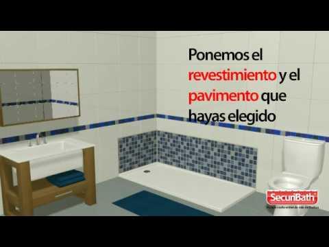 Cambio de ba era por plato de ducha universal - Cambiar banera por ducha leroy merlin ...