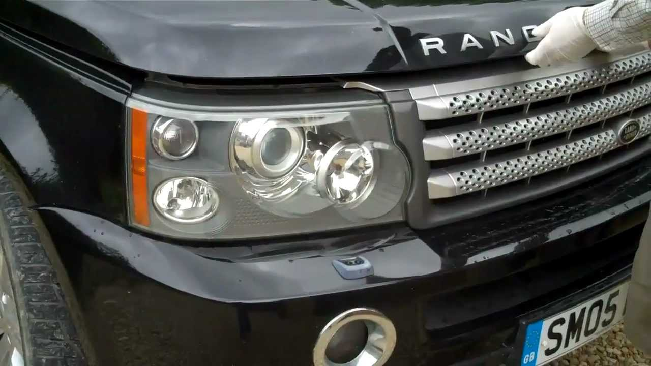 How To Remove The Headlights On A Range Rover Sport 2005