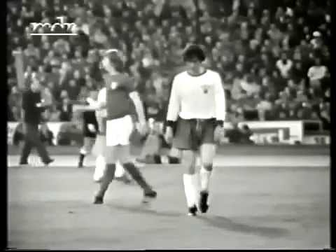 1974 Friendly match - East Germany vs  England