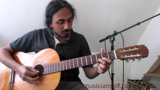 Aaro Viral Meeti - Guitar Lead - Indian Classical based Malayalam song