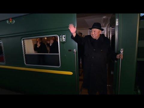 North Korea's Kim leaves Pyongyang for China trip