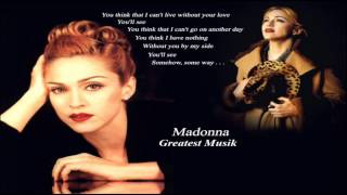Madonna You'll See (Luke's All By Himself Extended)
