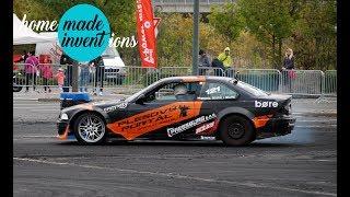 Drift race CDS GYMKHANA Olomouc 2018 - 121 Michal DRÁPAL - DRAPIK BMW E36 GTR