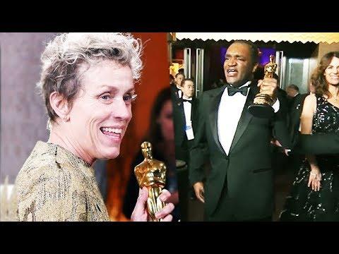 The curious case of Frances McDormand's 'missing' Oscar statuette