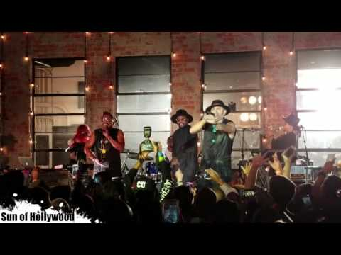 Black Eyed Peas Secret Show July 15th, 2016 (Full Performance Video)