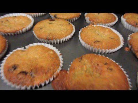 ASMR Baking Banana Choc Chip Muffins for Mother's Day - Softly Spoken, Whisper, Mouth Sounds