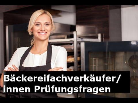 Bäckereifachverkäufer Prüfungsfragen