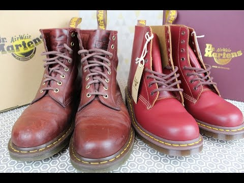 "DR MARTENS ""For Life"" Vs ""Made In England"" *COMPARISON REVIEW*"