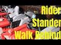 Zero Turn Mower Comparison:  Ride On vs Stander vs Walk Behind