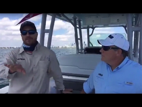 MAKO Boats: 2018 414 CC Walkaround w/ Rob Ferris and Jimmy Wickett