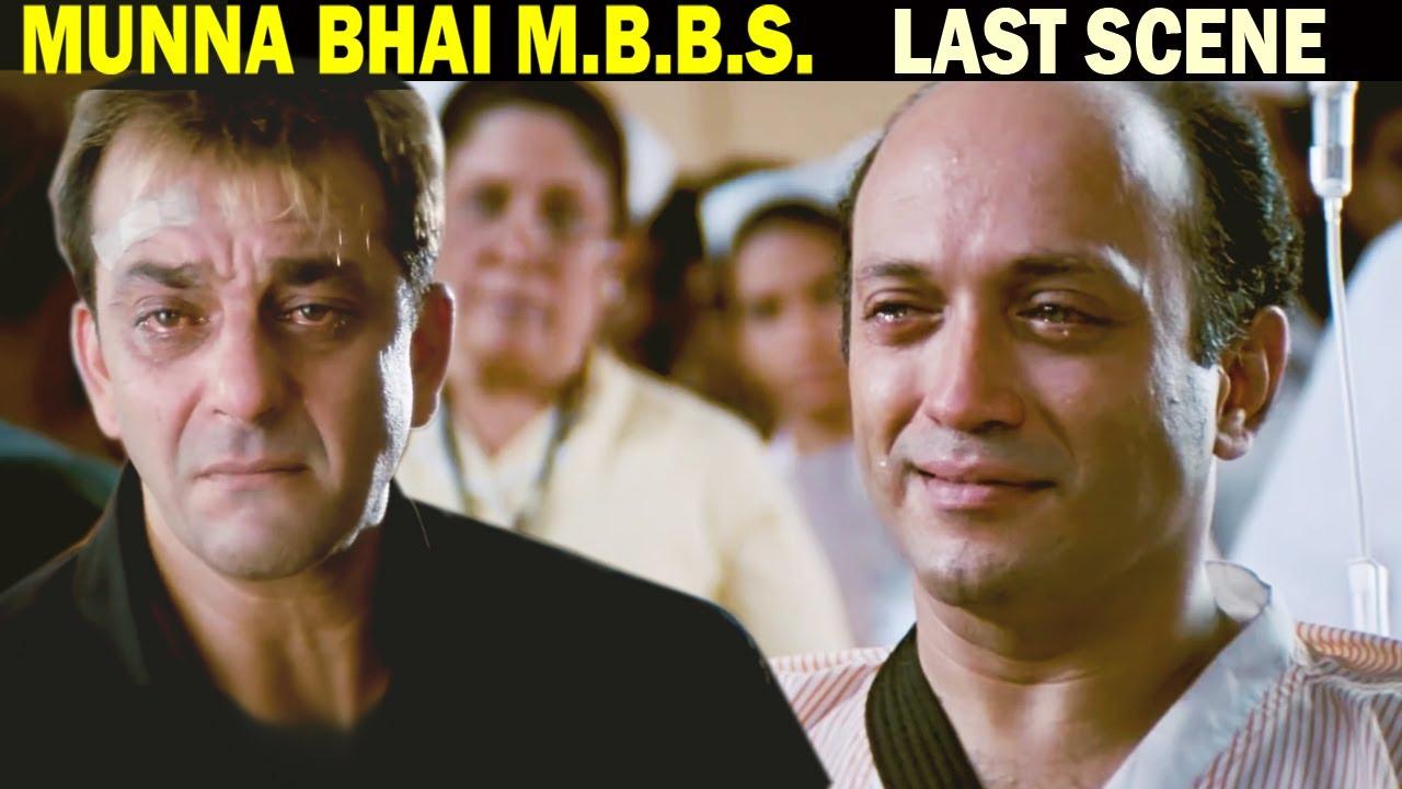 अपुन डॉक्टर नहीं गली का गुंडा है | Sanjay Dutt Best Scene | Munna Bhai M.B.B.S. Last Scene
