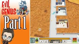 Let's Stream Evil Genius Gameplay - Part 1 - Gameplay Walkthrough