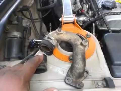 How To Change A Water Pump By Pass Hose On A 1994 Toyota