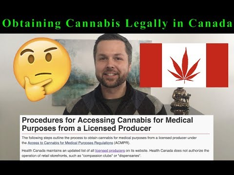 Obtaining Cannabis Legally In Canada - What You Need To Know