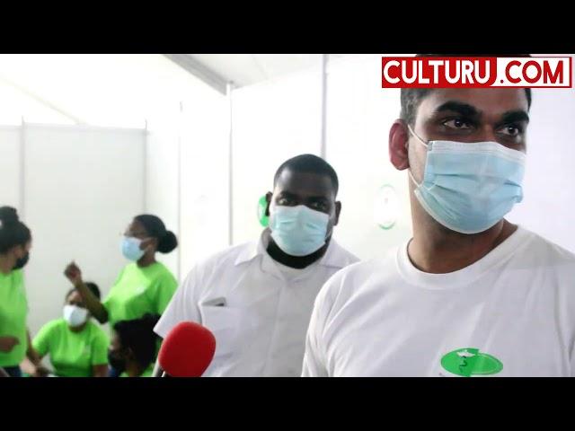 Suriname: aanvang gemaakt met de covid vaccinatie campagne