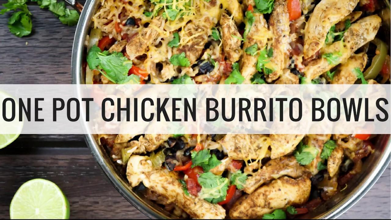 Chicken burrito bowls youtube for Cutthroat kitchen perfect burrito