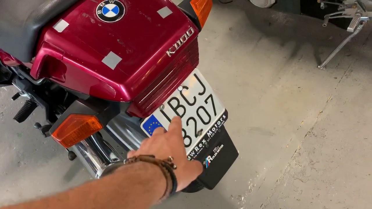 BMW K1100RS para Proyecto de Customización en Cafe Racer SSpirit