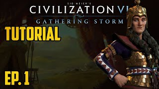 Ep. 1 - Civ 6 Tutorial for completely new players - Scythia