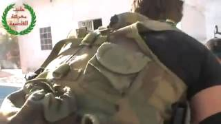 Syria terrorists under heavy fire Part2 25 07 2013