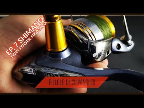 I miei mulinelli da SPINNING - Ep.7 - SHIMANO TWIN POWER 5000 SW-A IL CARROARMATO! - clipangler
