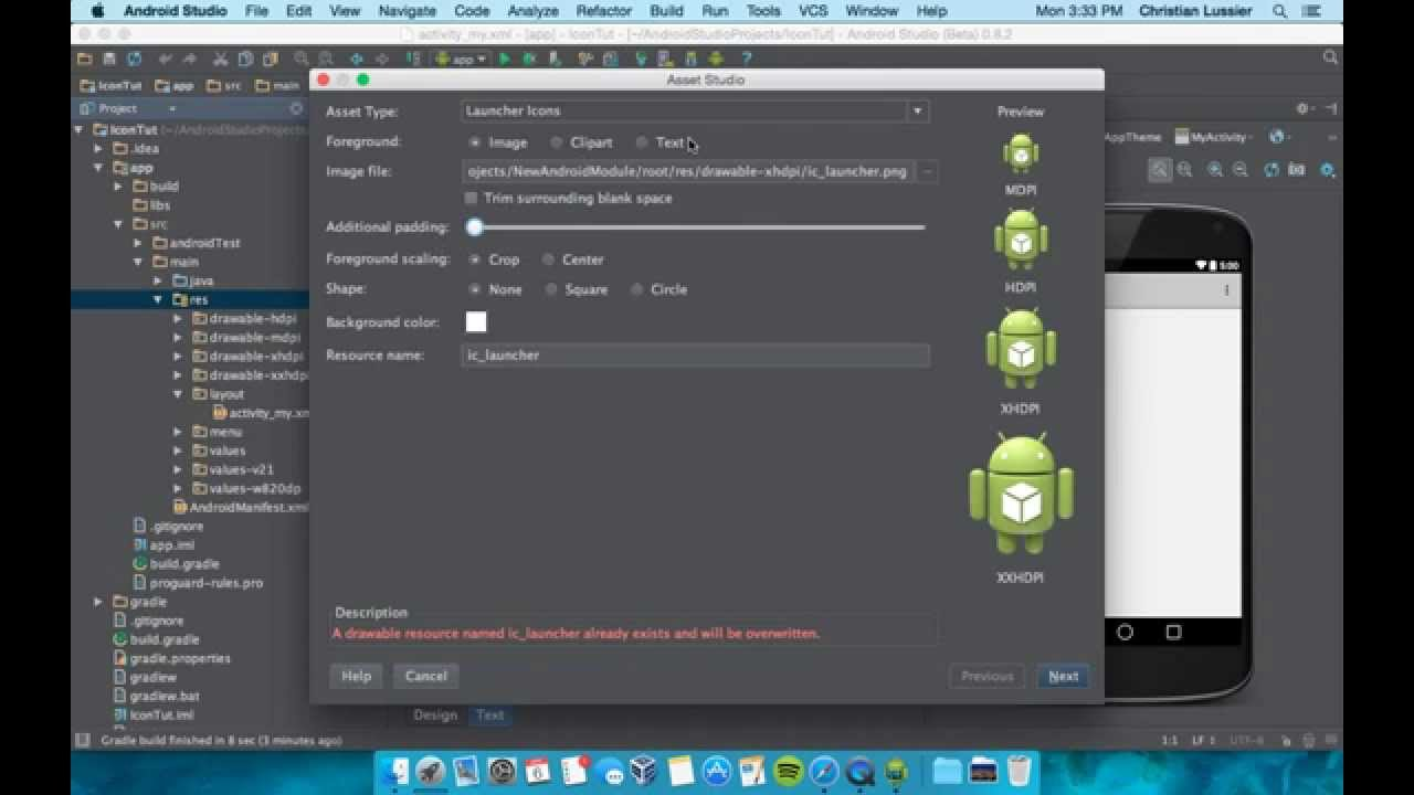 Visual Studio Android App Tutorial - YouTube