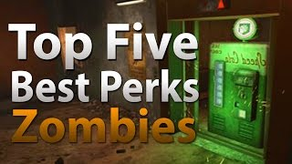 TOP 5 Perks in Call of Duty