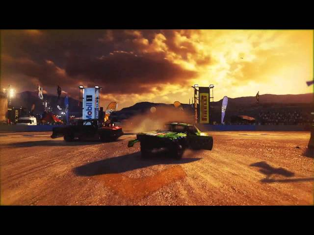 Dirt Showdown trailer 2 Gameplay