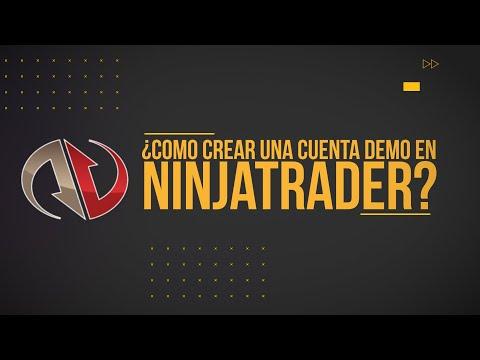 Cómo crear una cuenta demo en NinjaTrader