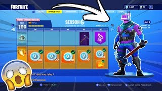 NEW FORTNITE SEASON 6 MAP, LEAKS, SKINS, BATTLE PASS! (Fortnite Battle Royale Season 6 Battle Pass)