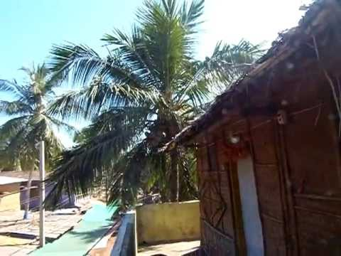 A tour of my deluxe beach hut in Arambol, Goa, India