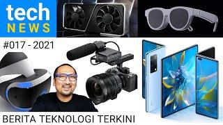 TechNews #017: Huawei Mate X2, Sony FX3, RTX3060 Anti Miner , Samsung AR Glasses, Sony VR PS5 - 2021