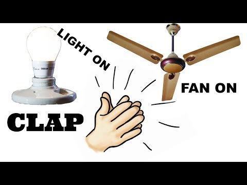 How to make a clap switch at home||Control your light,fan just using clap||DIY