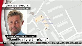 """Polis död efter biljakt: """"Tragiskt"""" - Nyheterna (TV4)"""