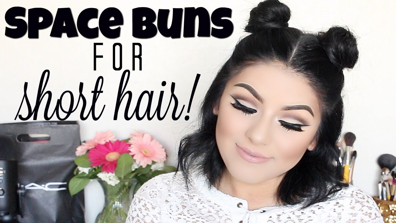 Pyt Giveaway Closed Space Buns For Short Hair Youtube