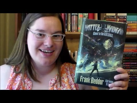 Hatter Madigan: Ghost in the HATBOX by Frank Beddor & Adrienne Kress ~book