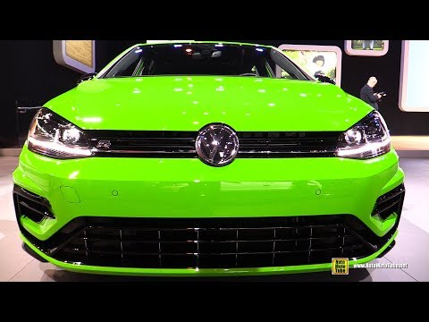 2019 Volkswagen Golf R - Exterior and Interior Walkaround - 2019 Chicago Auto Show