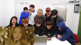 UP10Tion Reaction to SNSD HOLIDAY Teaser