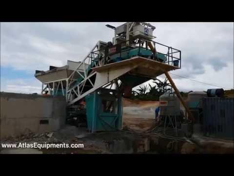 Mobile Readymix Concrete Mixing Plant | Mobile Concrete Batch Mixer Plant Philippines