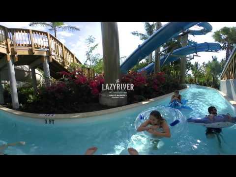 Splash Down - New Waterslides at Hyatt Regency Coconut Point