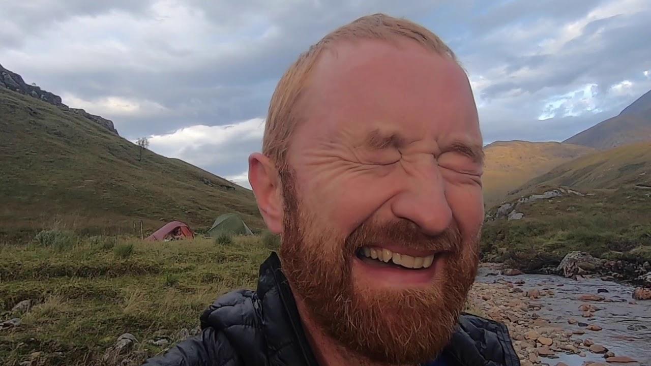 Glen Nevis Camping Adventure - Best Wild Camp Site! - YouTube