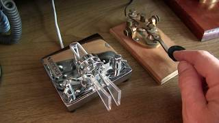 #300: Ham Basics: Sending Morse Code / CW  straight key, paddles and iambic keying