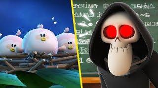 Spookiz | NEW Sesaon 3 - Taking care of birds | 스푸키즈 | Funny Zombie Cartoon | Videos for Kids