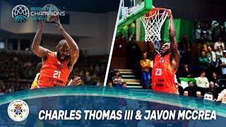Charles Thomas III & Javon McCrea - Maccabi Rand Media - Basketball Champions League