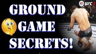EA UFC 3:  GROUND GAME SECRETS SHHHHH :)