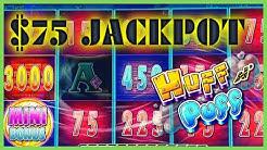 🔒HIGH LIMIT Lock It Link Huff N' Puff (2) JACKPOT HANDPAYS 🔒$75 BONUS ROUND Slot Machine Casino 🔒