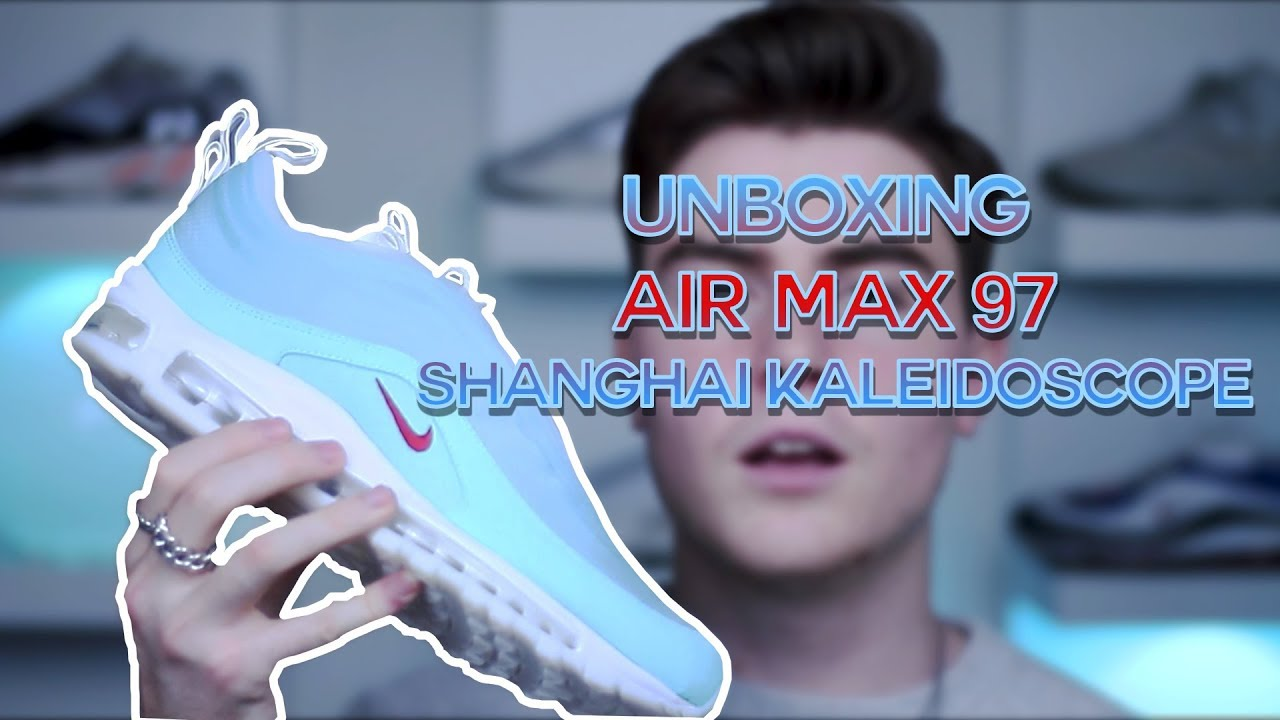 UNBOXING AIR MAX 97 SHANGHAI KALEIDOSCOPE ☁️ + ON FEET